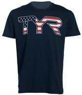 TYR USA Swimming Men's Americana Graphic Tee