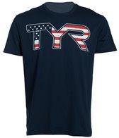TYR USA Swimming Men's Americana Graphic Tee