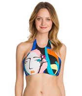 Seafolly Face It High Neck Tank