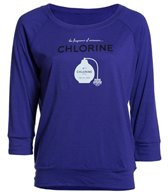 USA Swimming Women's Chlorine Raglan T-Shirt
