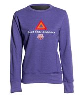 USA Swimming Women's Pool Side Support Crew Neck Sweatshirt
