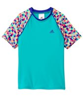 Adidas Girls' Tri to See it My Way Rashguard (7-16yrs)
