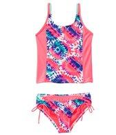 Adidas Girls' Sorbet Okay! Tankini Set (7-16 yrs)