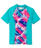 Adidas Girls' Sorbet Okay! S/S Rashguard (7-16 yrs)