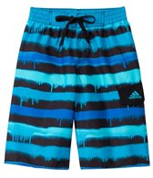 Adidas Boys' Graffiti Stripe 8 Volley Short (S-XL)