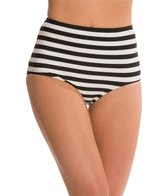 Kate Spade Georgica Beach Stripes High Waist Bikini Bottom