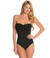 Kate Spade Georgica Beach Classic Bow Bandeau One Piece