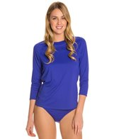 Swim Systems Atlantic Blue 3/4 Raglan Swim Top