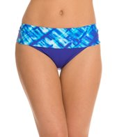 Swim Systems Atlantic Plaid Banded Bikini Bottom