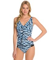 Sunsets High Tide Underwire Twist Tankini Top (D/DD)