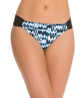 Sunsets High Tide Shirred Side Bikini Bottom