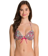 Eidon Offbeat Summer Triangle Bikini Top