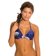 Roxy Tropical Getaway Tiki Triangle Bikini Top