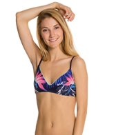 Roxy Tropical Getaway Athletic Bra Bikini Top
