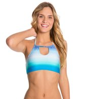 Roxy Ocean Breeze Halter Crop Top