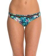 BCBGeneration Fun In The Sun Floral High Waist Bikini Bottom