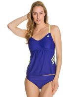 Adidas 3 Stripe Tankini Top