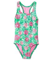 TYR Girls' Sweet Pea Racerback One Piece (4yrs-16yrs)