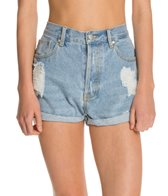 MINKPINK Go West Denim Shorts