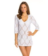 J.Valdi X-Rated 3/4 Sleeve Cover Up Tunic