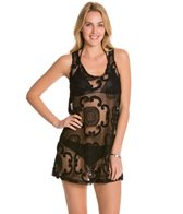 J.Valdi Signet Tank Cover Up Dress