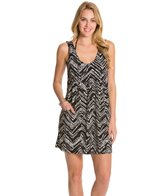 J.Valdi ITY Prints Scoop Pocket Cover Up Dress