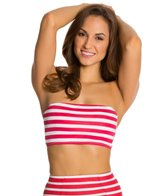 Kingdom & State Retro Stripe Halter Top