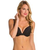 La Blanca Core Solid Push Up Underwire Bra Bikini Top (D-Cup)