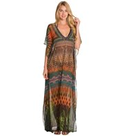 La Blanca Down to Earth Maxi Cover-Up Caftan
