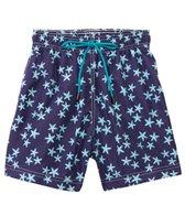 98 Coast Av. Crazy Blue Star Swim Trunks