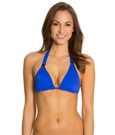 Skye So Soft Solids Med Slider Halter Bikini Top