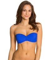 Skye So Soft Solids Lucy Bandeau Tie Back Bikini Top