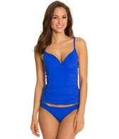 Skye So Soft Solids Crystal Underwire Tankini Top