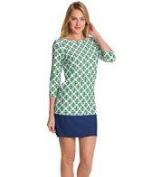 Cabana Life Cape Mod 3/4 Sleeve Swim Dress