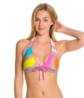 Trina Turk The New Pop Wave Banded Halter Top