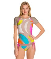 Trina Turk The New Pop Wave Covers S/S Rashguard