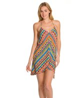 Trina Turk Peruvian Stripe Covers Short Dress