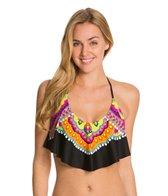 Trina Turk Nuevo Sol Halter Crop Bikini Top