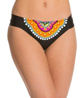 Trina Turk Nuevo Sol Shirred Side Hipster Bikini Bottom