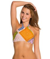MINKPINK Sunset Patchwork Halter Top