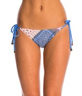 MINKPINK Sunset Patchwork Tie Side Bikini Bottom