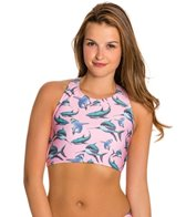 MINKPINK Just Like Jaws Racer Back Crop Top