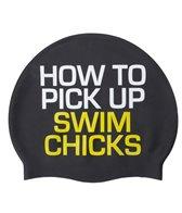 Sporti How to Pick Up Swim Chicks Silicone Swim Cap