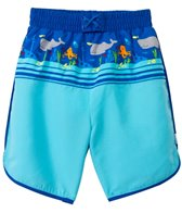iPlay Boys' Shipwreck Mix 'N Match Ultimate Swim Diaper Panel Boardshorts (3mos-4yrs)