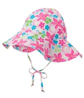 iPlay Girls' Frangipani Classics Brim Sun Protection Hat (0mos-4yrs)