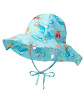 iPlay Girls' Luau Classics Brim Sun Protection Hat (0mos-4yrs)