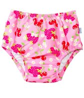 iPlay Girls' Berries Classics Ultimate Ruffle Snap Swim Diaper (3mos- 4yrs)