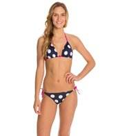 Arena Big Dots Triangle Bikini Swimsuit Set