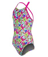 Arena Watercolor Jr One Piece Swimsuit