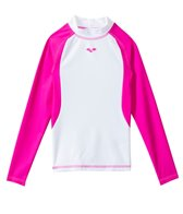 Arena Girls L/S Swim Shirt